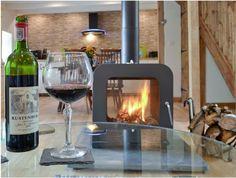 Double Sided Woodburning Stove Vesta Made in UK Stove Fireplace, Fireplace Design, Cottage Fireplace, Fireplace Wall, Fireplace Ideas, Double Sided Log Burner, Boiler Stoves, Wood Tile Bathroom Floor, Stove Installation