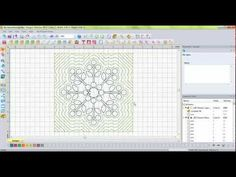 ▶ Embellish Artwork - Floriani My Decorative Quilter (MDQ) - YouTube