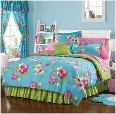aloha tropical quilt girls bedding collection | quilts | pinterest