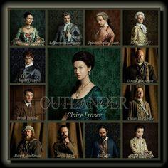 The Oitlander Cast