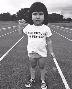 """""""O futuro é das mina"""""""