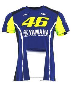 Valentino Rossi Yamaha Dual-Black Camiseta Hombre