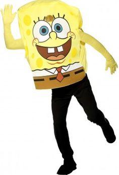 LE déguisement Bob l'Éponge adulte, le personnage le plus psyché de tous les dessins animés !