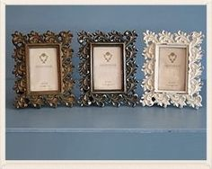Antique Style Rectangular Oak Leaves Photo Frame by Originals