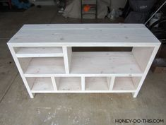 DIY changing table would work for toy and bag storage also. Diy Furniture Tv Stand, Playroom Furniture, Diy Furniture Easy, Diy Outdoor Furniture, Furniture Ideas, Diy Wooden Shelves, Diy Storage Shelves, Wooden Diy, Bag Storage