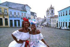 Pelourinho, Salvador, Bahia - Brazil