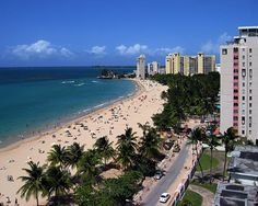 iSLA VERDE BEACH IN PUERTO RICO....Sometimes my favorite places are associated with my favorite memories. For about 3 years I visited Isla Verde every couple of months and stayed at a cool condo on the beach. I loved it, walking the sand, talking to the locals, shopping and cooking the fish fresh from the ocean....such peace and rest and escape. A place of love...Awesome memories.