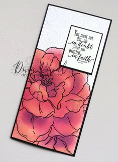 Impression Obsession Cards, Neenah Paper, Coloring Tips, Powerpoint Word, Life Design, Life Organization, Petunias, Stencils, About Me Blog