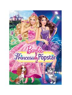 I Love My Kids Blog: The Princess and The Popstar Movie review and Barbie™ themed party