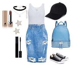 """""""Untitled #966"""" by aagyekumwaa ❤ liked on Polyvore featuring Majestic, One Teaspoon, Converse, Michael Kors, ASOS Curve, Givenchy, Gucci and Marc Jacobs"""