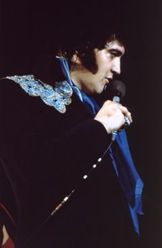 April-Tour 1975 - ELVIS Macon April 24   Many were seen wandering about outside willing to pay too much to ticket scalpers. The tickets for the show sold out three months before Elvis sang a note. Elvis received on standing ovation after another during the concert, and men and women jumped to the music and to the experience of seeing Elvis in concert.