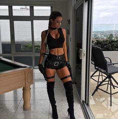 Steph Pacca as Lara Croft