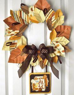 DIY Home Decor DIY Fall Crafts : DIY  Nightfall Wreath