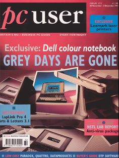 Dell was among the first to introduce color displays on laptops