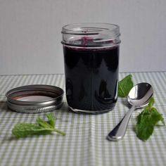 Blueberry-Mint Jam