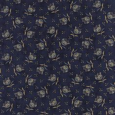 Moda Lexington Tulip Indigo - Minick & Simpson - 1 yard