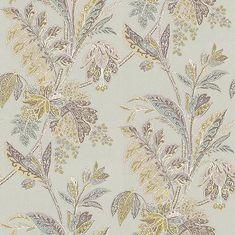 Ishana  Lime/Grey wallpaper by Baker Lifestyle