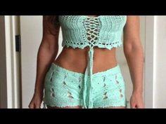 Cómo hacer un SHORT a Crochet Ganchillo Ideal Principiantes - YouTube