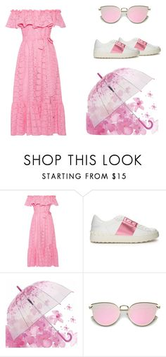 """""""pink"""" by stylishnut98 on Polyvore featuring Lisa Marie Fernandez and Valentino"""