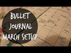 Bullet Journal - my March setup - Just Wonderstyle
