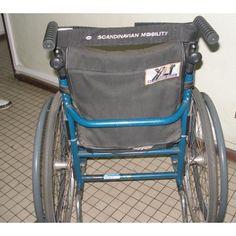 Cadeira de Rodas Manual Ativa Scandinavian Mobility XLT