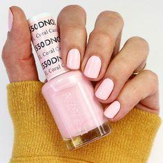 DND Gel Polish Review 2020 – NARCISSISTIC NAILS Fall Gel Nails, Pink Nail Colors, Pink Gel Nails, Gel Nail Polish Colors, Light Pink Nails, Toe Nail Color, Dnd Shellac Colors, Acrylic Nails, Shellac Nails