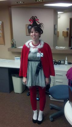 cindy lou who from the Grinch... Halloween 2012