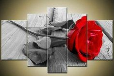 Popular Red Rose Wall Decor-Buy Cheap Red Rose Wall Decor lots ...