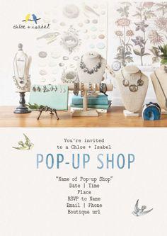 Chloe + Isabel Pop Up Shop