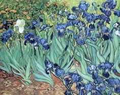 """dominusvenustas: """" Vincent van Gogh, Irises, 1889 Theme of the day in case you hadn't guessed…. Van Gogh's irises. Van gogh's glorious irises. The vibrant colours and wonderful rhythms say all. Art Van, Van Gogh Art, Van Gogh Pinturas, Vincent Van Gogh, Rembrandt, Iris Painting, Mary Cassatt, Van Gogh Paintings, Flower Paintings"""