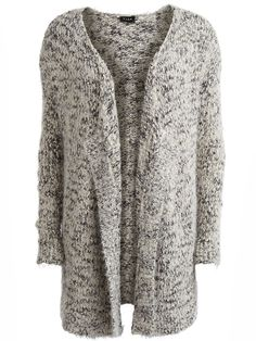 Stay warm! SAMBI - OPEN KNITTED CARDIGAN #vilaclothes #cardigan #knitwear