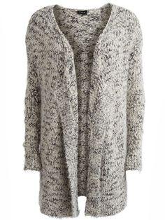 Stay warm! SAMBI - OPEN KNITTED CARDIGAN #vilaclothes #cardigan #knitwear