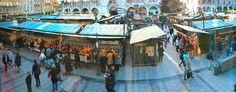 München, Weihnachtsmarkt auf dem Marienplatz