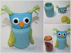 Resultado de imagen para crochet jar cover