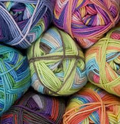 KnitPicks self-striping #yarn.  Love.  $4.59