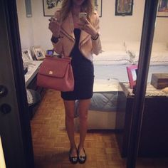 #zara #black #pink #outfit #fashion