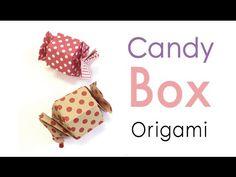 Origami Paper Hexagon Candy Gift Box Tutorial - Origami Kawaii〔#159〕 - YouTube