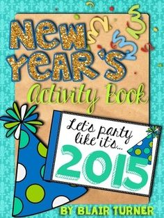 {FREE!} New Year's Activity Book | by Blair Turner | $Free