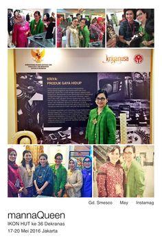 mannaqueen @ IKON Hut ke 36 Dekranas 17-20 Mei - Gedung Smesco Jakarta  www.mannaqueen.com