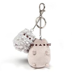 Buy Pusheen And Stormy Deluxe Keychain Clip online and save! This backpack clip combines Pusheen with Stormy. A metal clip and keychain lets you show off your Pusheen fandom on the go. Pusheen Toys, Pusheen Stuff, Pusheen Stormy, Keychain Clip, Keychains, Grey Tabby Cats, Plush Dolls, Pet Toys, Gifts
