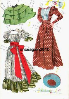1956 Oklahoma paper doll clothes / eBay