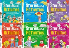 Read With Oxford Biff, Chip & Kipper Stories & Activities 6 Books Set(Stage 1-3)