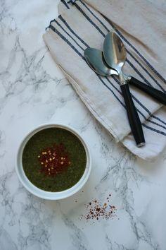 ~Vegan green soup~ ~Supă cremă de legume verzi~