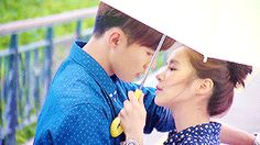 I don't know why but to me it seems like in Asian dramas when they kiss it seems more passionate, more real.