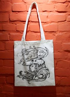 Hand drawn bag