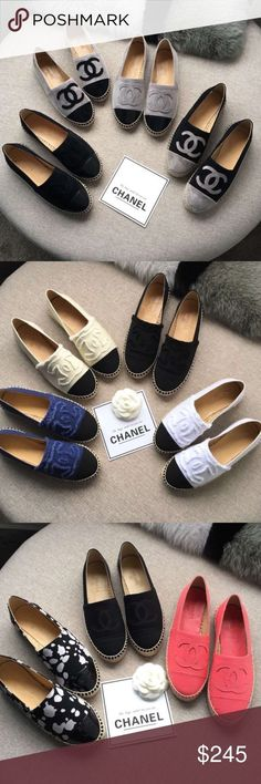 a3550b9da7a4 Tendance Chaussures 2017 New Chanel espadrilles Brand new. Comes complete  with box and dust bag. Shared by Career Path Design.