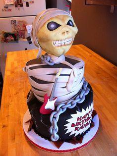 iron maiden cake ideas - Google Search