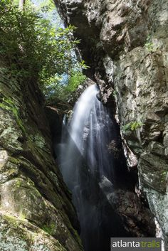 Hike the Raven Cliff Falls Trail 5.1 miles through a waterfall-filled valley to one of Georgia's most popular and beautiful waterfalls
