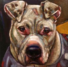 """Commissioned Dog/Cat Portraits-12""""x12"""""""
