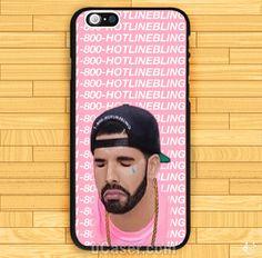 Drake Hotline Bling Pink iPhone Cases Case